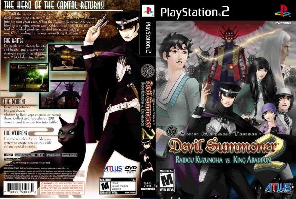 Devil Summoner 2 Cover PS2