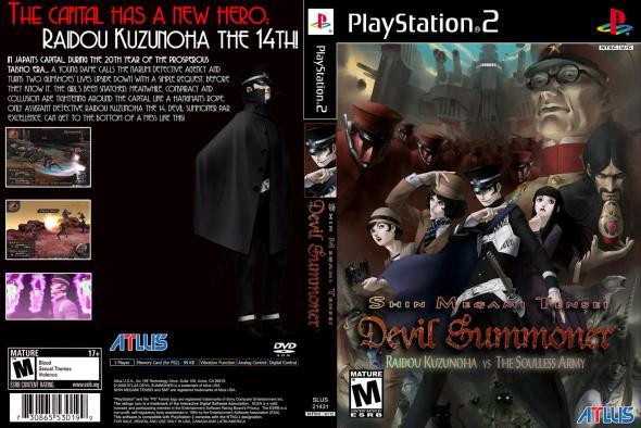 Devil Summoner Cover PS2