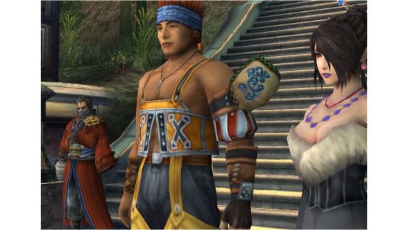 Final Fantasy X HD comparison screenshot