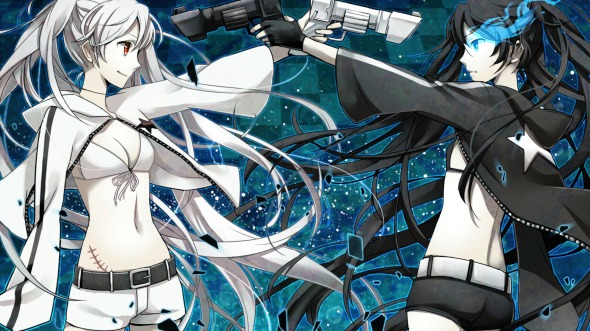 Black Rock Shooter X White Rock Shooter