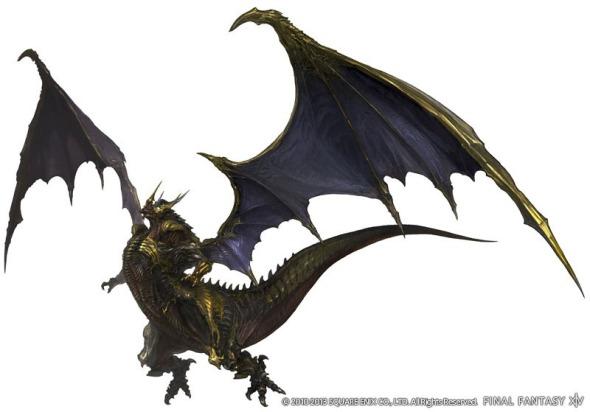 Final Fantasy XIV A Realm Reborn - Bahamut