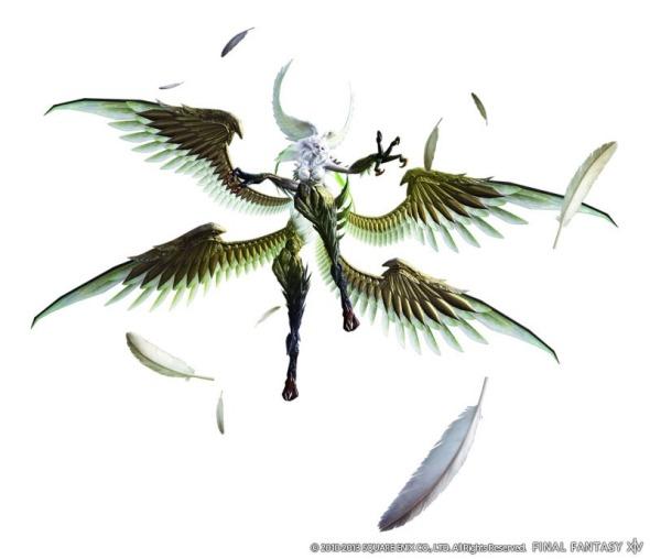 Final Fantasy XIV A Realm Reborn - Garuda