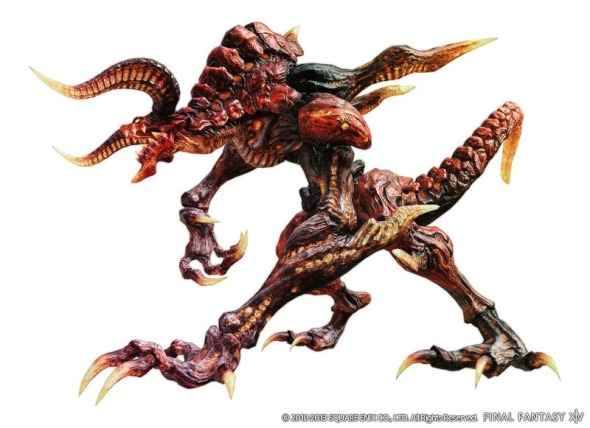 Final Fantasy XIV A Realm Reborn - Ifrit