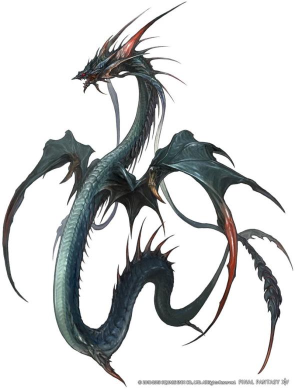 Final Fantasy XIV A Realm Reborn - Leviathan