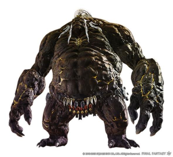 Final Fantasy XIV A Realm Reborn - Titan