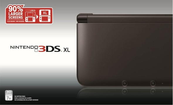 3DS XL Black