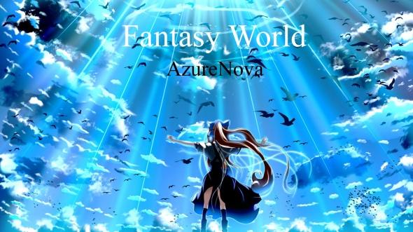 AzureNova Fantasy World Cover