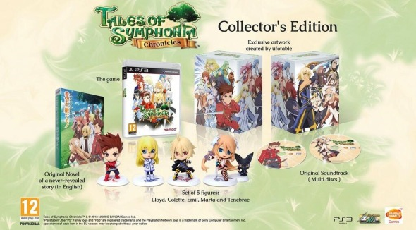 Tales Of Symphonia Chronicles Collector's Edition Europe