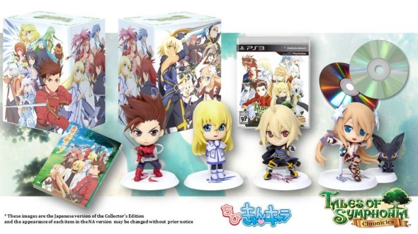 Tales Of Symphonia Chronicles Collector's Edition North America