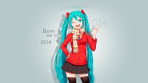 Happy New Year 2014 Miku 553251_devushka_golubyie_volosyi_novyiy_god_2014_s_novyim_1920x1080_(www.GdeFon.ru)