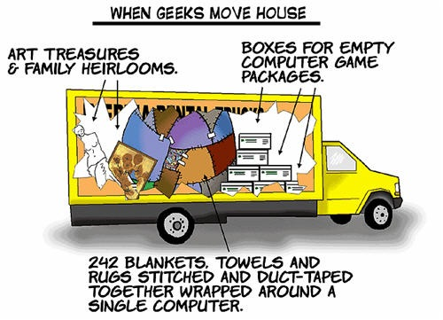 When Geeks Move House