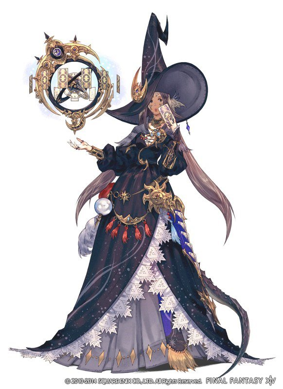FFXIVARR Astrologian Job Heavensward Expansion