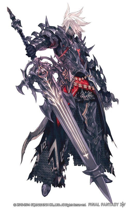 FFXIVARR Dark Knight Job Heavensward Expansion