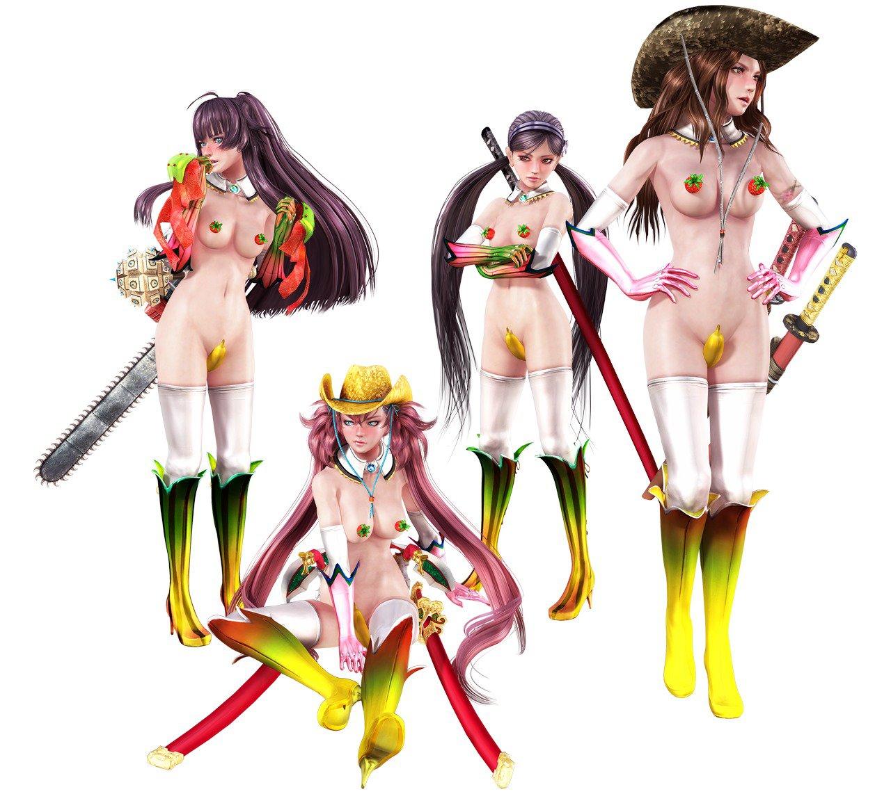 Onechanbara Bikini Samurai Squad Hentai