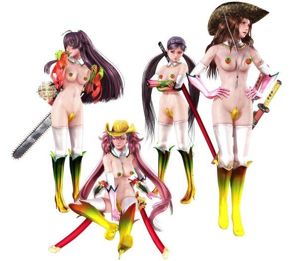 Onechanbara Z2 Bannana DLC 0292